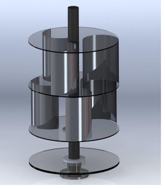Power generation using Vertical axis wind turbine using Magnetic Levitation