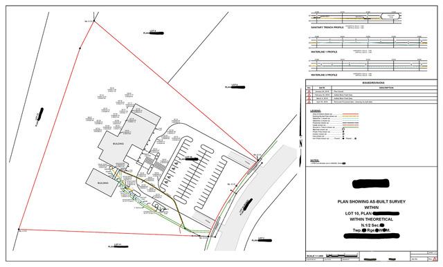 As-Built Site Survey Plan