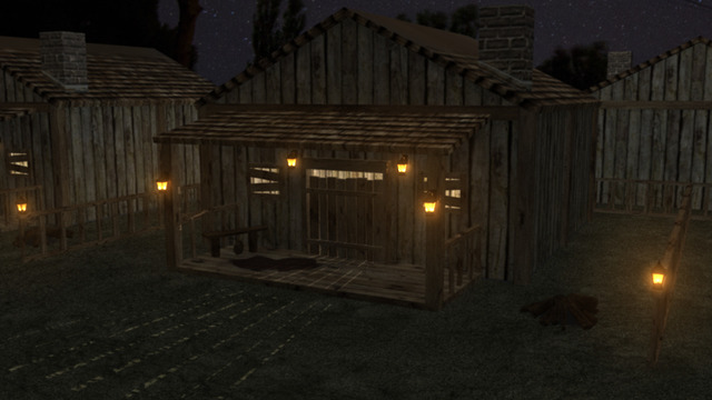 Game's Village House