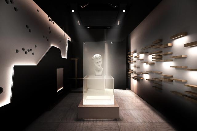 mini exhibition space