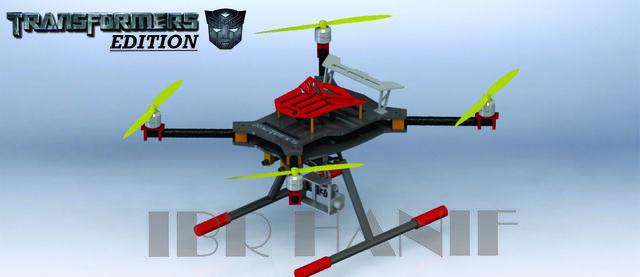 Quadcopter Transformer Edition