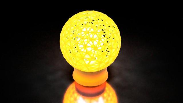 3D Printable Decoration Light Sphere