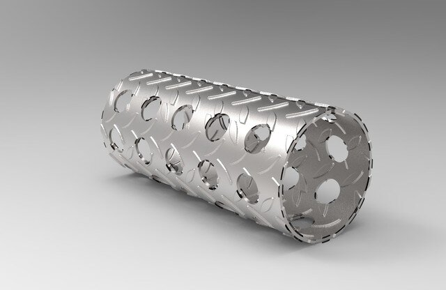 holes-cylindrical-pipe