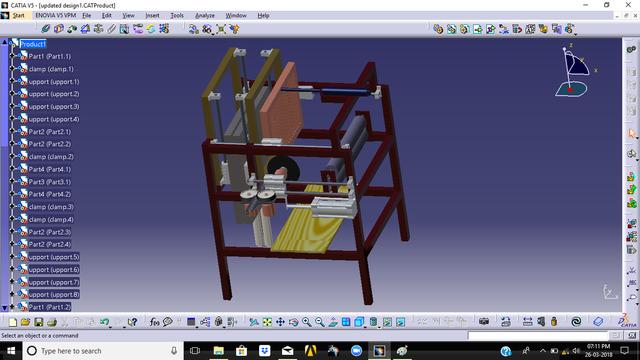 bamboo mat making machine