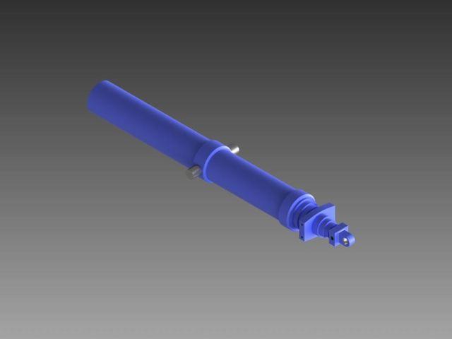 Multi stage hydraulic cylinder (Edbro Brand)