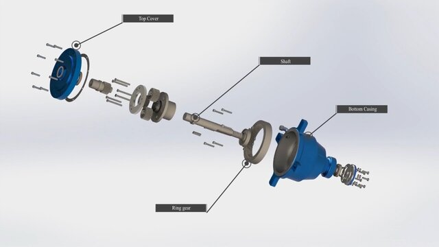 Planetary Gearbox System