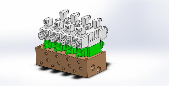 Hydraulic Manifold Assembly