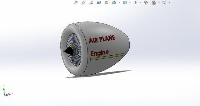 AIR PLANE ENGINE