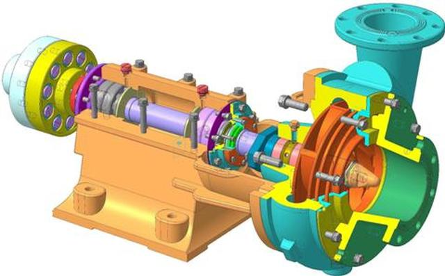 Sludge centrifugal pump ШН 250-34.