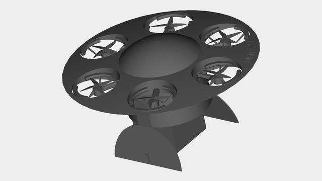 Delivery drone Concept Design