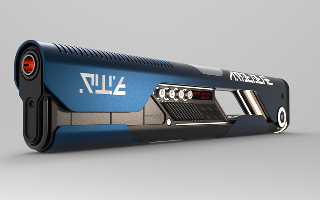 sci-fi gun design
