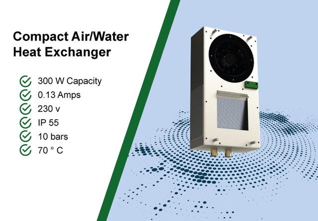 Compact Air/Water Heat exchanger