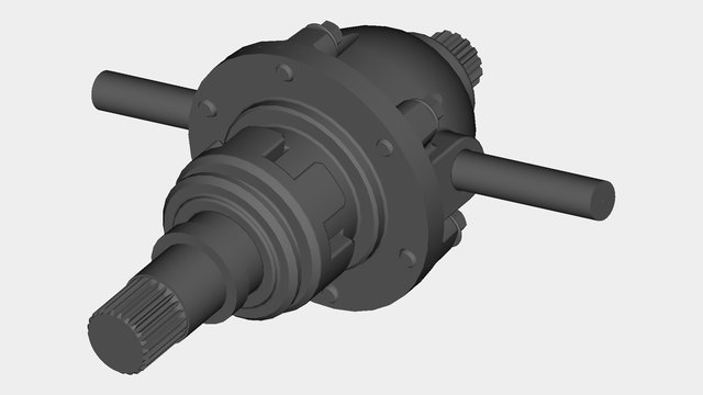 Differential_Gearbox
