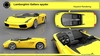 Lamborghini Alias automotive model and keyshot rendering