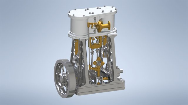 Steam Engine Model Reconstruction