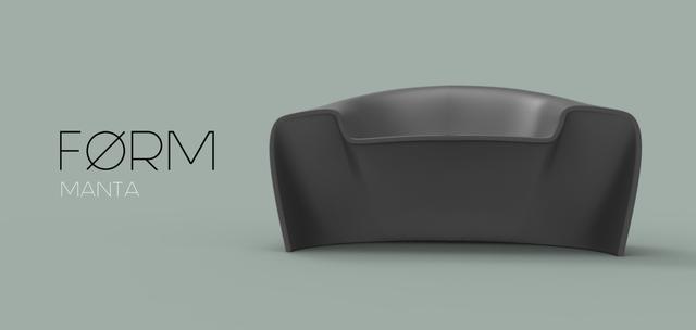 Manta roto molded chair