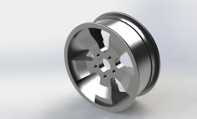 Rendering OF Alloy Wheel