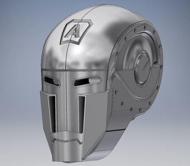 3D Modelling Design - Robot head - Atlantis V1
