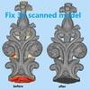 3d scanned model repair
