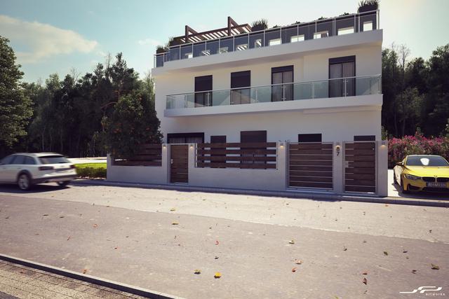 Exterior - Τwo storey house