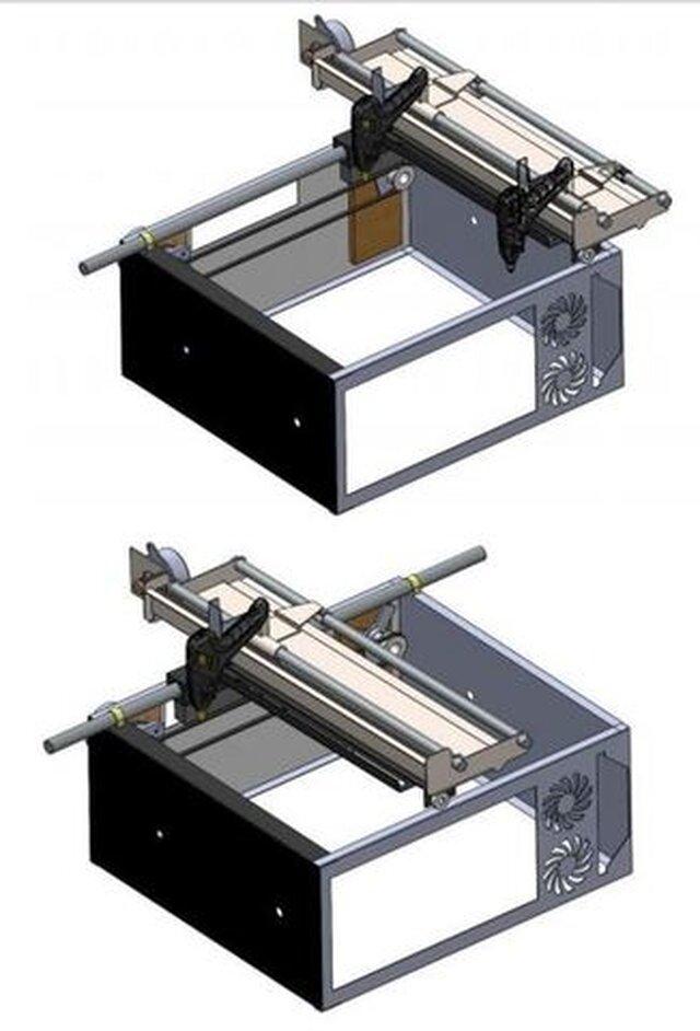 machine de dépôt de colle