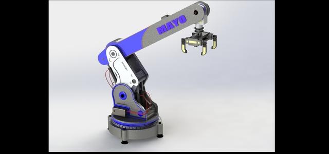 5-DOF Industrial material handling Robot(stationary AI robot)