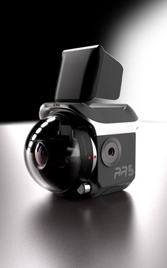Integrated camera stabilizer