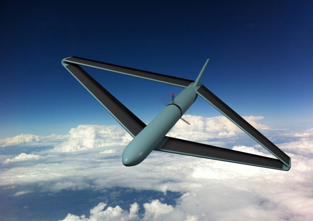 Rombo UAV, an efficient and stable electric aircraft