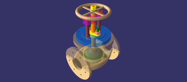 Stop globe valve