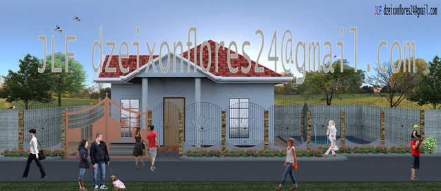 Bungalow House (Render)