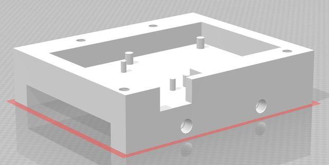 3D Print Model - Chip Housing Design