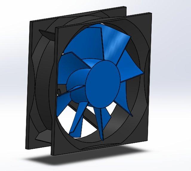 Exhaust fan assembly