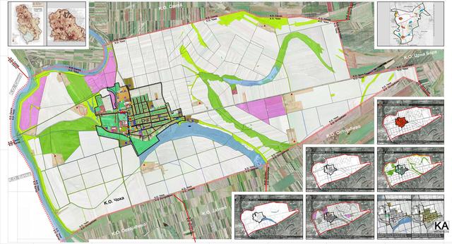 General regulation plan, Coka, Serbia