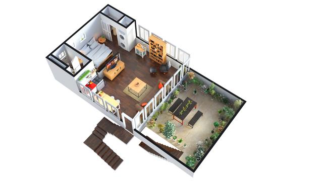 3D Floor Plan Rendering Design Services