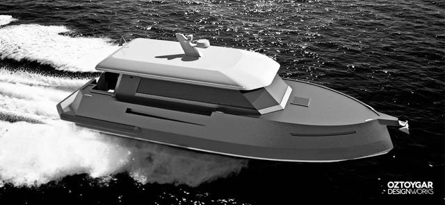 Yacht Design and Rendering