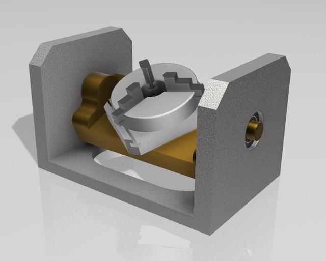 CNC mill - 5axis-fixture