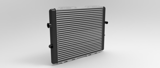 cross flow radiators