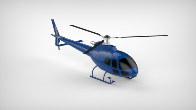 AS350B3 helicopter