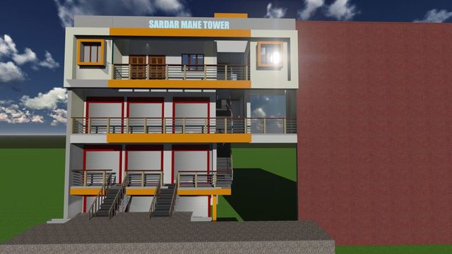 small 3D Drawing AND ENGINEERING DRAWING