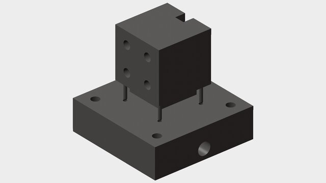 Micro-lens Mould Fabrication Assembly