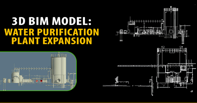 3d-bim-model-water-purification-plant-expansion-in-usa