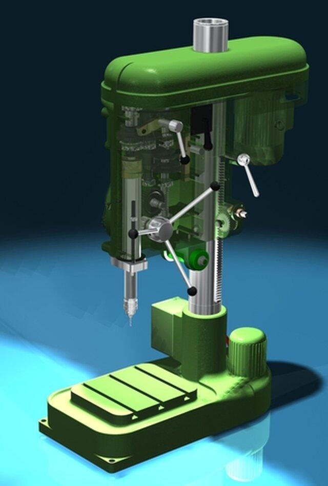 Pillar drill MS32B