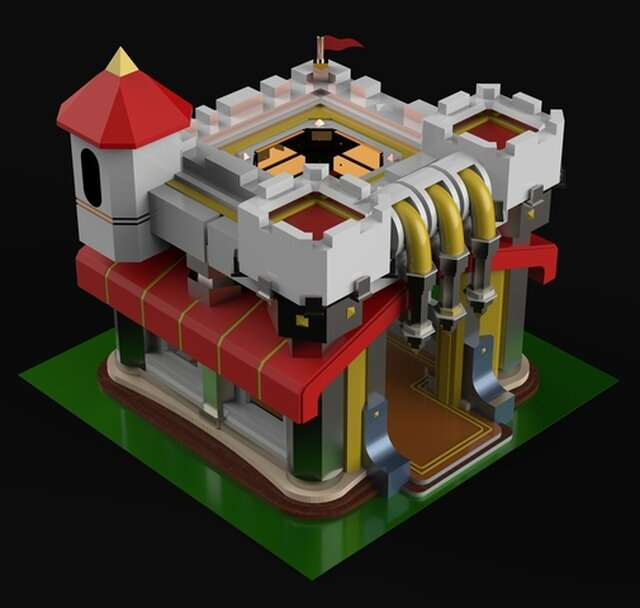 3D CAD Model of COC Townhall 11