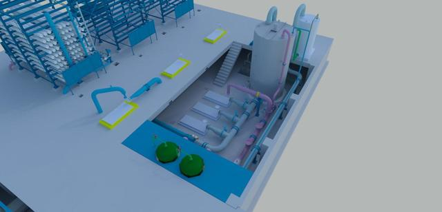 Autocad Plant 3d with Revit (Water station )