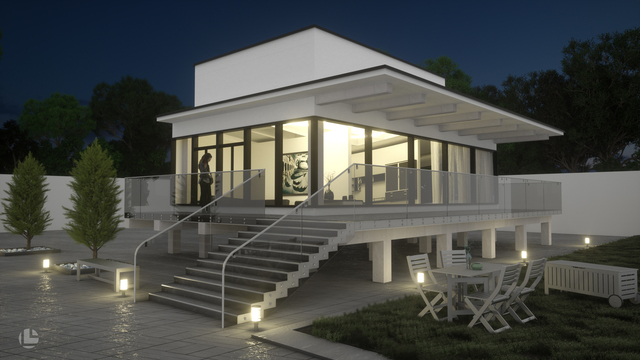 Modern House Visualization