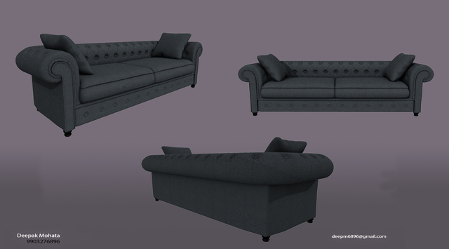 all my freelancing work for set modeling texture