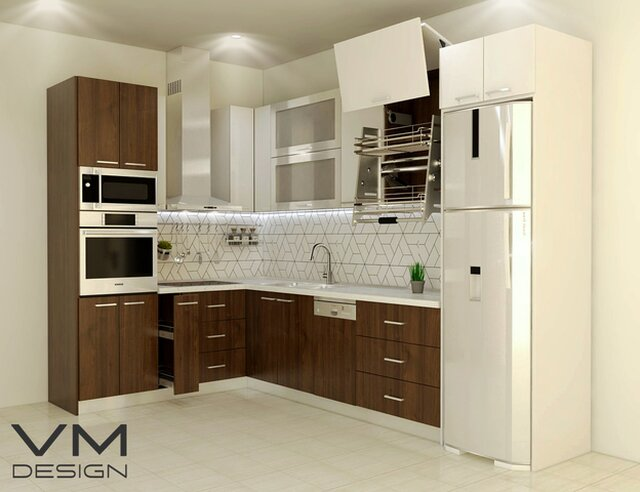 Kitchen Project - 3D modeling & visualization