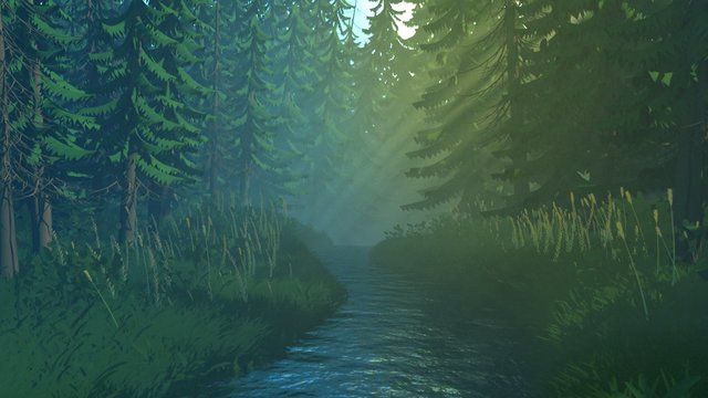 Stylized Forest 3D