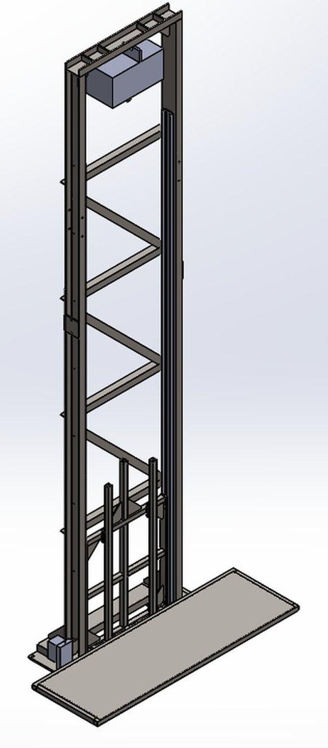 0,5 ton platform lift