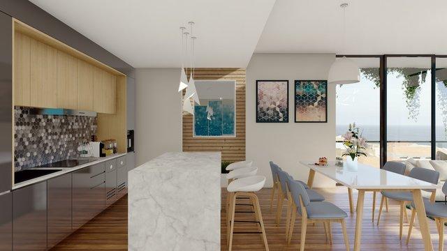 Kitchen Diner Interior Design
